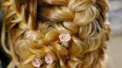 Зачіска на середні волосся на весілля. Що вибрати