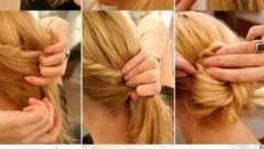 Зачіска самій собі на середні волосся за 5 хвилин