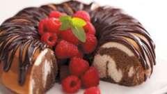 Простий і смачний рецепт мармурового кексу