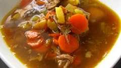 Простий рецепт супу з яловичини