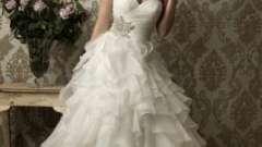 Пишні весільні сукні - мрія будь-якої дівчини