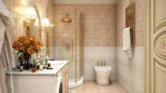 Розкладка плитки у ванній кімнаті