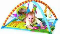 Розвитку дитини допоможе дитячий ігровий килимок