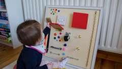 Розвиваючі іграшки для дітей своїми руками. Виготовлення іграшок