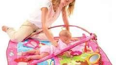 Розвиваючі килимки для новонароджених - шлях до пізнання світу