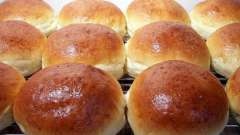 Рецепт булочок в духовці, смачних і солодких. Як приготувати булочки в духовці?