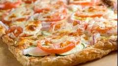 Рецепт піци з листкового тіста - сучасна класика