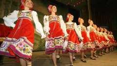 Ритуально-обрядовості російський танець