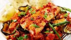 Риба по-марокканські: рецепт