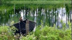 Риболовля в водах гладишевського озера. Заповідні місця карелії