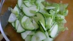 Салат з кольрабі: рецепт приготування