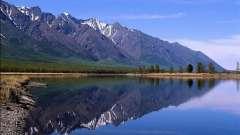 Найбільше прісноводне озеро в світі за запасами води - байкал