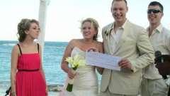 Жартівливі лотереї на весілля: як і коли їх проводять