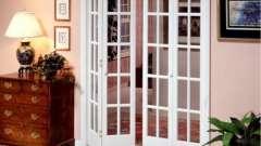 Складні двері міжкімнатні - краса і економія простору