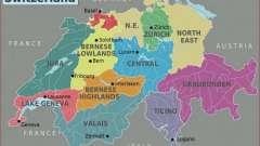 Скільки кантонів, об`єднавшись, створили швейцарію? Коротко про кожного