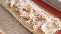 Листковий пиріг з кури з листкового тіста: рецепт, фото