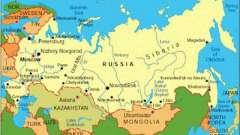 Сусіди росії першого і другого порядків. Держави-сусіди росії з півночі, сходу, півдня і заходу