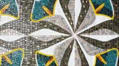 Скляна мозаїка: види, характеристика, застосування