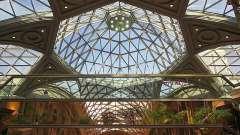 Скляні стелі - оптимальне поєднання світла і простору