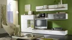 Стінки, гірки для вітальні - важливий елемент будь-якого інтер`єру
