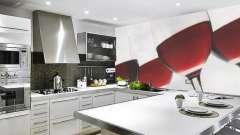Стіні на кухні: ідеї оформлення