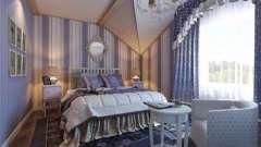 Стиль прованс в інтер`єрі спальні - модне рішення