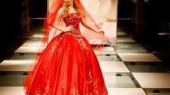 Чи варто купувати червоне весільну сукню