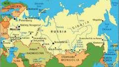 Країни, з якими межує росія. Кількість країн, що межують з росією