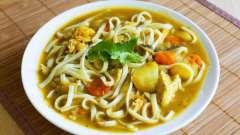 Суп з локшиною, і куркою, і картоплею: кращі рецепти. Суп з локшиною, і куркою, і картоплею в мультиварці