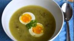 Суп щавлевий: як швидко і смачно приготувати