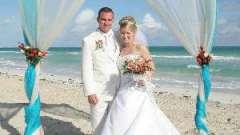 Весілля в морському стилі - ново і креативно