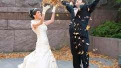 Весілля в листопаді: прикмети. Прикмети перед весіллям для нареченої і нареченого