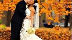 Весілля в жовтні: прикмети. Прикмети на весілля нареченій