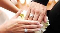 Весільні традиції та звичаї: на який палець одягають обручку