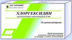 """Свічки """"хлоргексидин"""": інструкція із застосування в гінекології"""