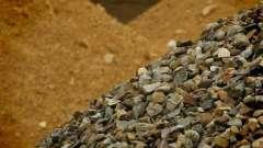 Сипучий матеріал (пісок, щебінь): виробництво і продаж