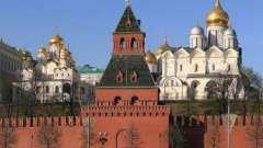 Тайницкая вежа московського кремля: рік зведення и фото