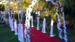 Урочиста весільна арка