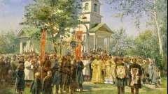 Традиції, обряди і звичаї: приклад обрядових дій на масницю і паску