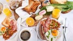 Традиційний американський сніданок: особливості, кращі рецепти і меню