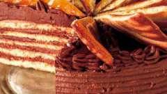 """Традиційний угорський торт """"добош"""": домашній рецепт"""