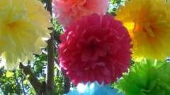 Вчимося робити квітка з кольорового паперу своїми руками (чотири способи)