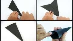 Дізнаємося про те, як з паперу зробити сюрікени