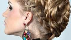 Вечірні зачіски на основі коси