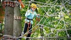Мотузковий парк на крестовському - місце відпочинку і для дітей, і для дорослих