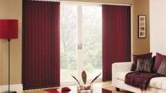 Вертикальні жалюзі - елемент декору приміщення