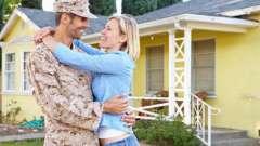 Зустріч з армії: сценарій будинку