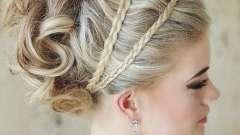 Висока весільна зачіска - варіанти популярних укладок