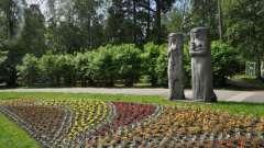 Зеленогорский парк культури і відпочинку: фото, опис і пам`ятки