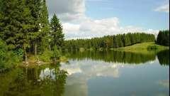 Дзеркальне озеро. Ще одне диво природи